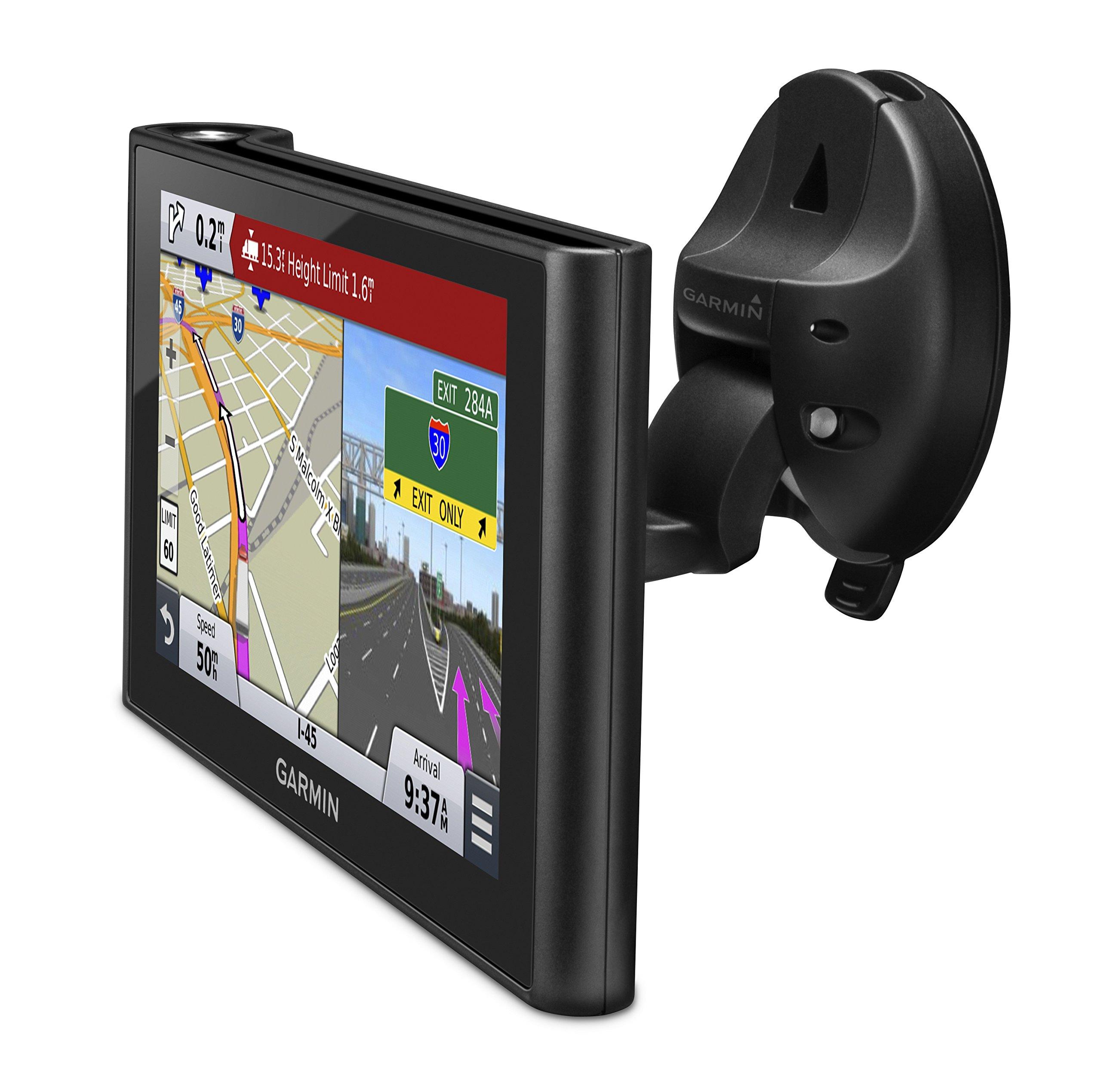 Garmin-dezlCam-LKW-Navigationsgert-lebenslange-Kartenupdates-DAB-LKW-spezifisches-Routing-6-Zoll-152cm-Touch-Glasdisplay