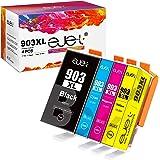 ejet Compatible Cartouches d'encre Remplacement pour HP 903 903XL pour Officejet Pro 6950 6960 6970 (Noir Cyan Magenta Jaune,