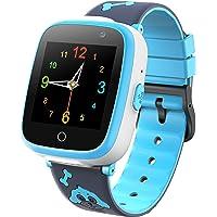 Orologio Intelligente per Bambini - Smartwatch per Lettore di Giochi Musicali con Videoregistratore 2 Camara 6 Gioco…