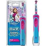 Oral-B Stages Power Spazzolino Elettrico Ricaricabile per Bambini con Personaggi Disney di Frozen, con 1 Manico e 1…