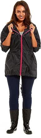 Ladies Fishtail Rain Mac | Festival Jacket Coat Kagool