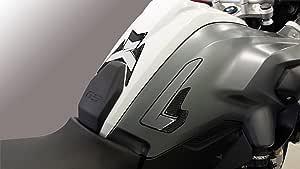KKmoon Protezione del Serbatoio Protezione Cuscinetti Serbatoio Olio Gas per Moto Antiscivolo Ginocchiera Sostituzione Cuscinetti Laterali Adatto per BMW R1200GS 2008-2012