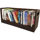 Boîte Rangement DVD Style & Design Attractif | Magnétique | Empilement Sécurisé | 30+ DVD Blu-Ray ou 90 CD : Poser sur Étagèr