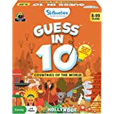 Skillmatics Countries of The World - Guess In 10 (Ages 8-99) | Card Game of Smart Questions | General Knowledge for Families