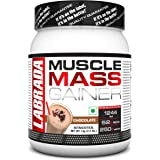 Labrada Muscle Mass Gainer (Gain Weight, Post-Workout, 52g Protein, 250g Carbs,1g Creatine, 500mg L-Carnitine, 3 Servings) -