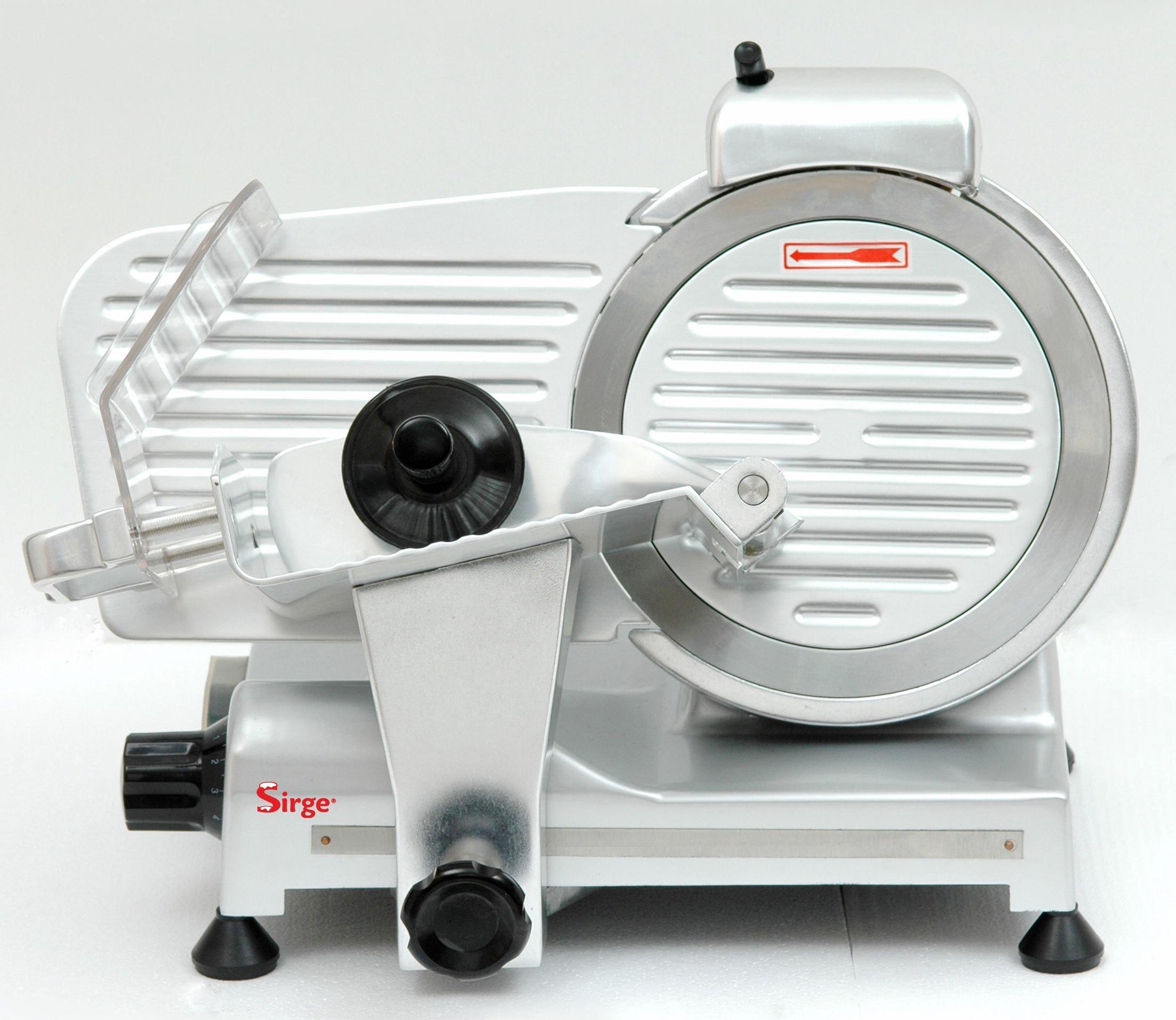 Sirge AFFPROF22 Affettatrice Professionale [320 WATT - Lunghezza taglio 14cm] semiautomatica a gravi