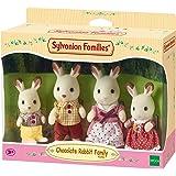 Sylvanian Families - 4150 - Famiglia Coniglio Cioccolato
