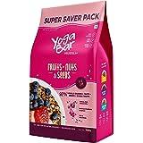Yogabar Breakfast Cereal & Muesli | 92% Fruit and Nut + Seeds + Whole-Grains | Super Saver - 700g