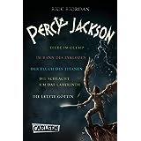 Percy Jackson: Band 1-5 der spannenden Abenteuer-Serie in einer E-Box! (Percy Jackson) (German Edition)