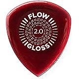 Médiums púas Flow Gloss 2 mm, pack de 3 unidades