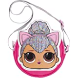 L.O.L Surprise! LOL Dolls Handbag for Girls | Glitter Crossbody Bag | Fashion Shoulder Handbag | Kitty Queen | Stage…