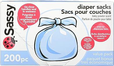 Sassy Baby Disposable Diaper Sacks (200 Count)