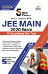 5 New Pattern Mock Tests for NTA JEE Main 2020 Exam - 75 Question per Test - 3rd Edition