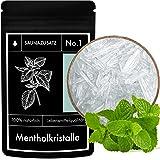 Cristaux de Menthol - Menthol Crystals Sauna Additive No. 1 - Menthol Sauna Crystals - Menthe japonaise 100% naturelle - 50 g