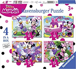 Ravensburger 06909 5  4 Puzzle in a Box Minnie