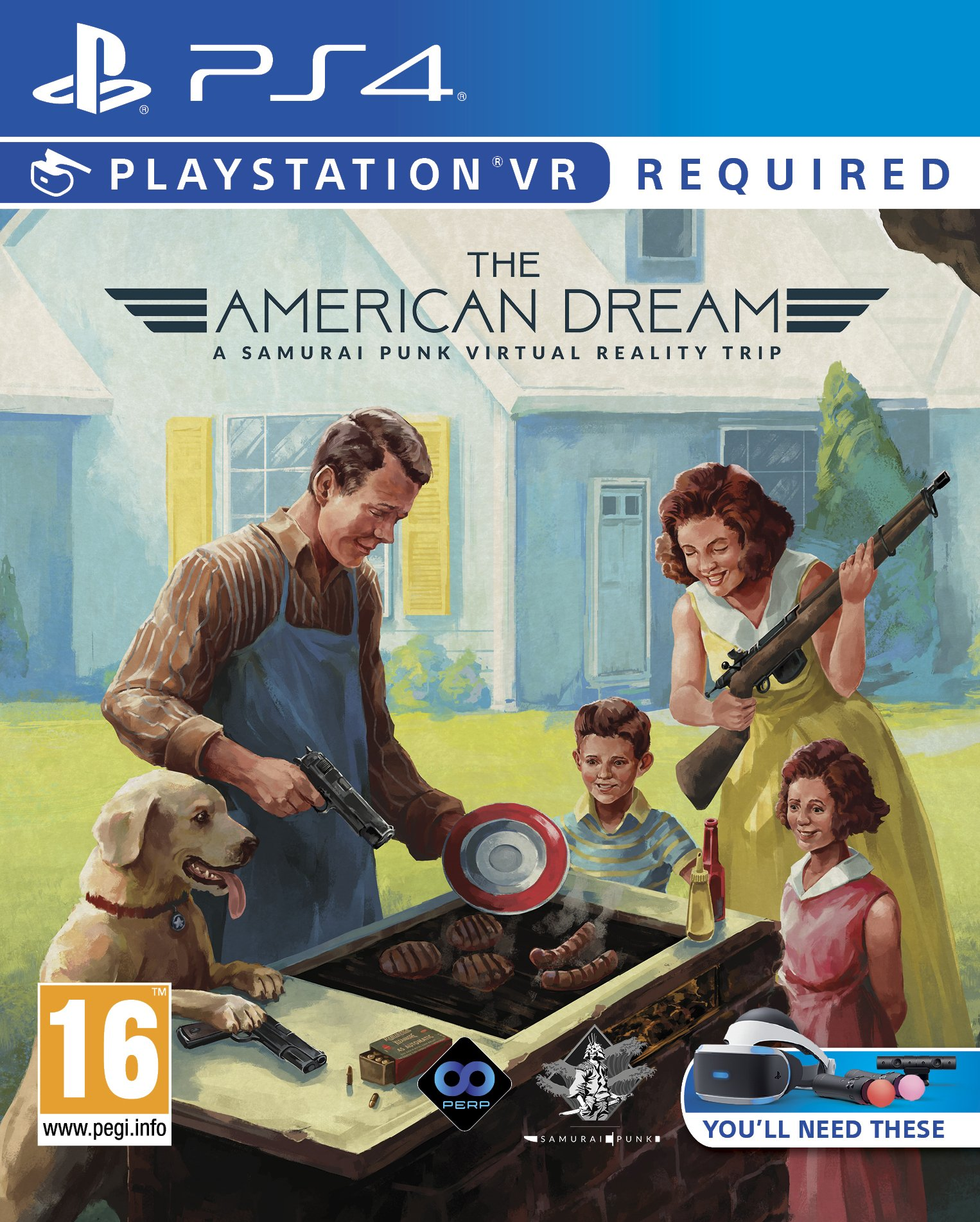 VR American Dream PS-4 UK [Import anglais]