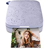 HP Sprocket Portable 2x3 inch Instant Photo Printer (Lilac) Print foto's op Zink Sticky-Backed vanaf uw iOS & Android-apparaa