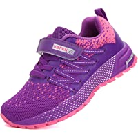 KUBUA Kids Trainers for Boys Girls Tennis Running Shoes Lightweight Sport Sneakers Athletic