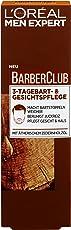 L'Oreal Men Expert Barber Club 3-Tagebart-und Gesichtspflege, macht den Bart weich, beruhigt Juckreiz und spendet 24H Feuchtigkeit, 50 ml