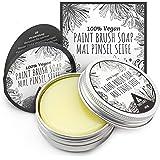 Tritart Borstrengörare för akrylfärg och akvariell - Artist Soap and Painting Brush Cleanser | 40 g vegansk borste tvål för k