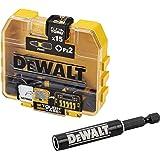 Dewalt DT70618T-QZ DT70618T-QZ-Juego de piezas Impact Torsion, svart/gul, en storlek, 15 stycken