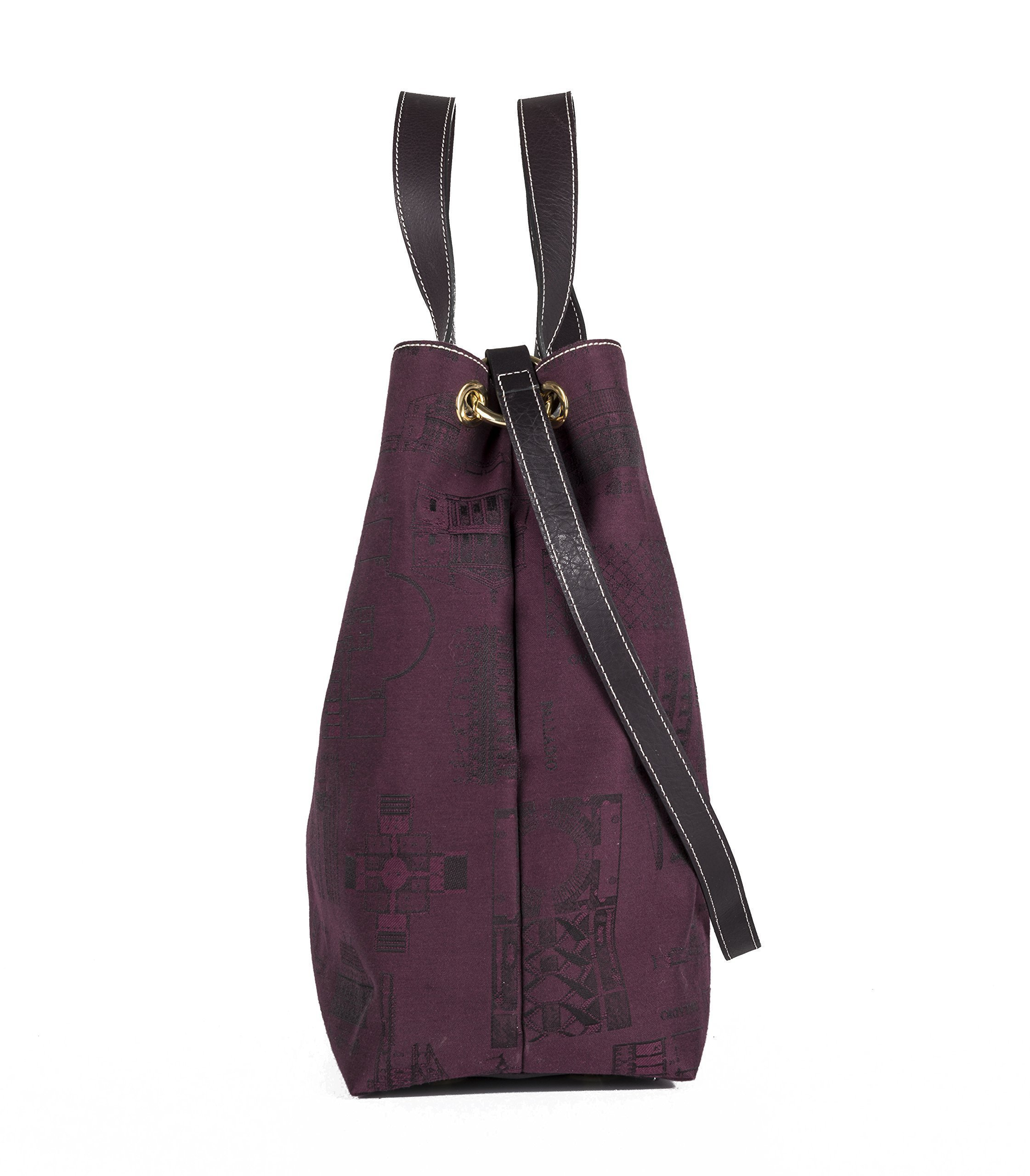 VILLA PISANI bag (with hooks). Made in Italy - handmade-bags