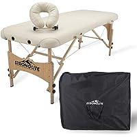 STRONGLITE Ensemble Table de Massage Shasta – Table de soin tout-en-un avec repose-tête réglable, coussin et sac de transport