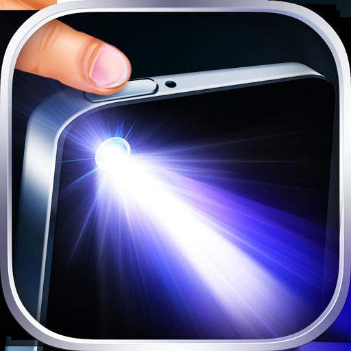 Power-Taste Taschenlampe