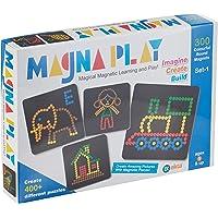 EKTA Plastic Magnetic Magna Play Set, Multicolour, 5+ Years