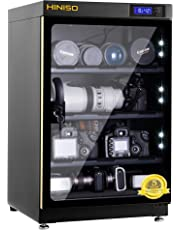 HINISO AD 80L 80 litres Camera Dry Cabinet with Electronic Display (Black)