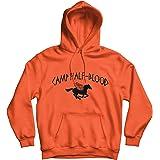 Camp Half Blood Hoodie - Percy Jackson TV Show Movie Cinematic Film Myth Gods 80% Ringspun Cotton 20% Polyester Kangaroo Pouc