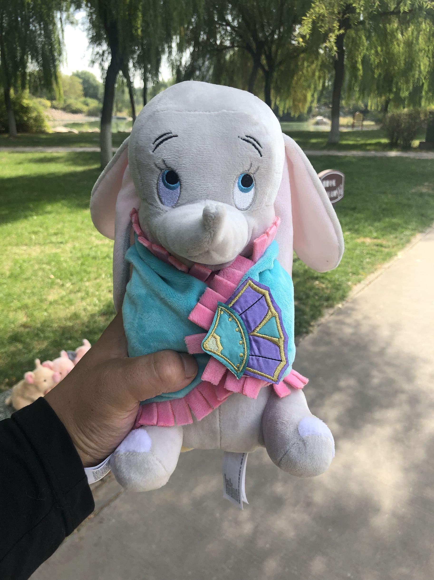 Cute Dumbo Baby Swaddle Elephant Stuff Animal Plush Toy Doll, Baby Kids Toys Regalo De Cumpleaños, para Recién Nacido Cute Animal Baby 21Cm
