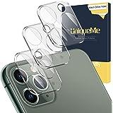 [3-pack] kameralinsskydd för iPhone 11 Pro Max/iPhone 11 Pro 9H hårdhet härdat glas, [HD klarhet] anti-fingeravtryck film ant