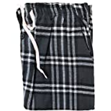 westAce Mens Flannel Pyjama Bottoms Brushed 100% Cotton Check Lounge Pants Nightwear