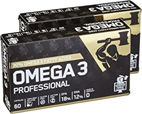 German Forge Omega 3 Professional, 60 Kapseln, 2er Pack (2 x 80.8 g)
