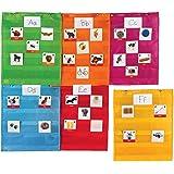 Tableaux carrés à poches aimantés de Learning Resources, LER2386