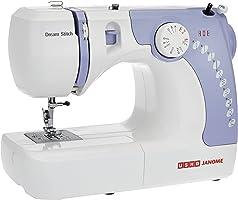 Usha Janome Dream Stitch Automatic Zig-Zag Electric Sewing Machine (White And Blue)