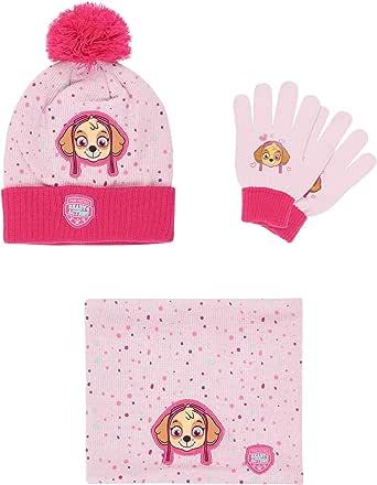 Handschuhe U= ca Junge Set 54 cm Paw Patrol Nickelodeon Mütze