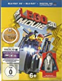 The LEGO Movie 3D +2D + Digital HD INKLUSIVE LEGO MINIFIGUR VITRUVIUS [Blu-ray]