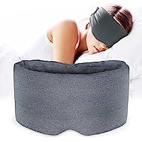 Hautfreundliche Nylon-Schlafmaske – weich und bequem, Blockiert Licht Schlafbrille, hautfreundliches Augenmaske für…