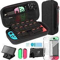 Kit Accessori 4 in 1 per Nintendo Switch, Include Vendfine custodia trasporto per Nintendo Switch / Cover Protettiva…