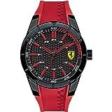 Ferrari Casual Watch Analog Display Quartz For Men 830299, Red Band