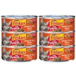 Friskies Prime Filets Chicken & Tuna Dinner in Gravy Wet Cat Food - 5.5 oz. Can (6 Cans)