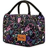 winmax Sac Isotherme Repas Femme Lunch Bag Sac à déjeuner Sac Fraîcheur Portable Sac Pique Niques pour Le École et Le Travail