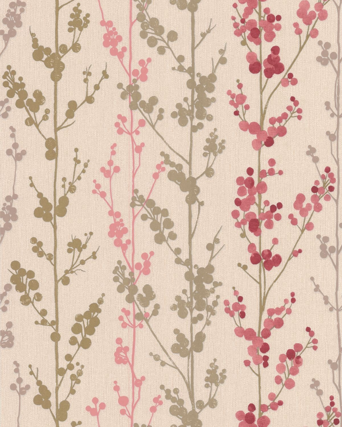 Superfresco Berries Wallpaper White 32 372 Amazoncouk DIY