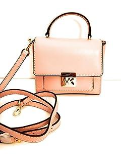 33aac517b118 Michael Kors petit sac à main et bandoulière cuir mindy Blossom 15x15x6m  neuf