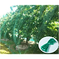 YHmall 4 * 10M Garden Netting Green Anti Bird Protection Net Mesh Protect Seedlings Plants Flowers Fruit Trees Vegetables from Rodents Birds Deer Reusable Fencing