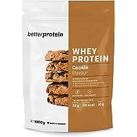 Whey Protein - Cookies & Cream 1 kg - Hergestellt in Deutschland aus regionaler Milch - BetterProtein® - Eiweißpulver…