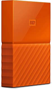 WD 1TB Orange My Passport Taşınabilir Harici Hard Disk - USB 3.0 - WDBYNN0010BOR-WESN