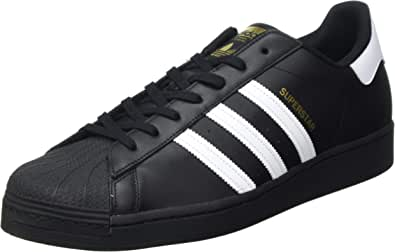 adidas Originals Superstar, Scarpe da Ginnastica Uomo, Nero (Core Black/Ftwr White/Core Black), 41 1/3 EU
